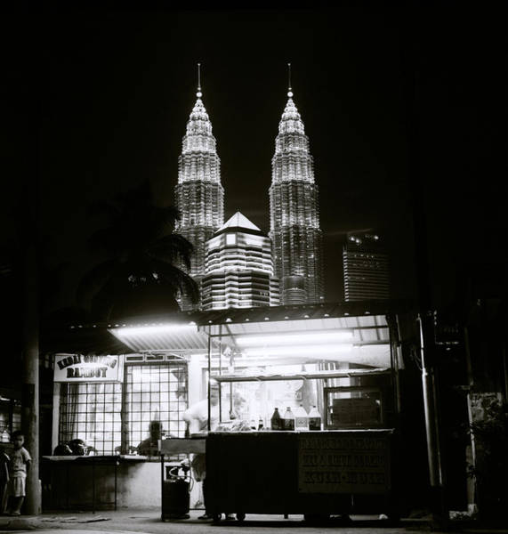 Photograph - Kampung Baru Night by Shaun Higson