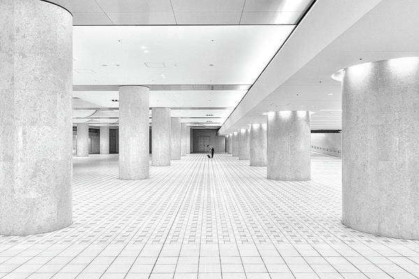 Wall Art - Photograph - Kanazawa Underground by Gary E. Karcz
