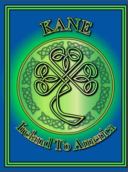 Wall Art - Digital Art - Kane Ireland To America by Ireland Calling