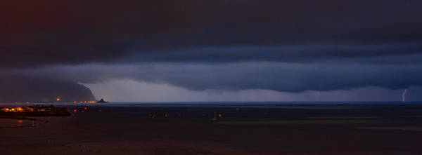 Photograph - Kaneohe Bay Lightning by Dan McManus