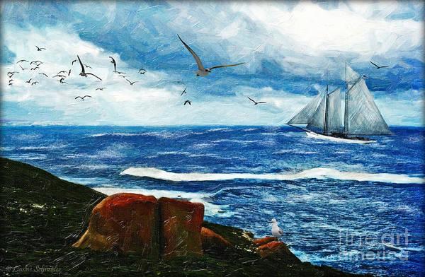 Wall Art - Digital Art - Kangaroo Island by Lianne Schneider