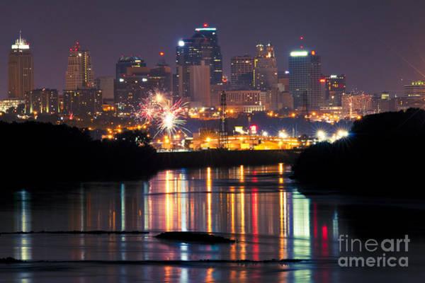 Photograph - Kansas City 4th by Ryan Heffron