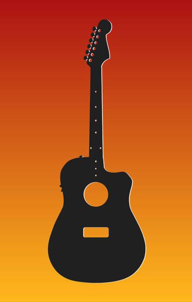 Bass Player Wall Art - Photograph - Kansas City Chiefs Guitar by Joe Hamilton