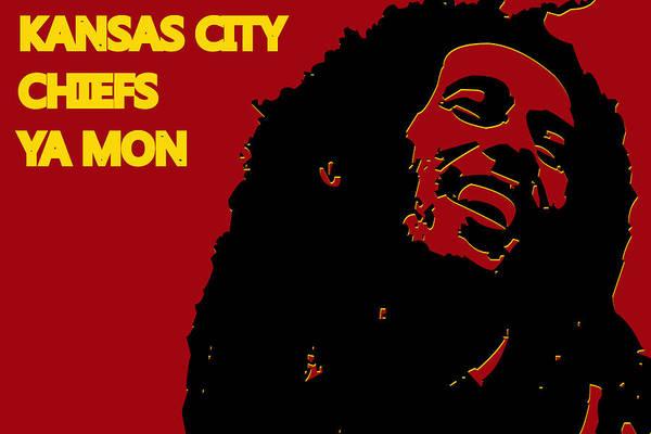Drum Player Wall Art - Photograph - Kansas City Chiefs Ya Mon by Joe Hamilton