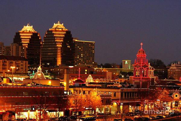 Country Club Plaza Photograph - Kansas City Plaza Lights by Catherine Sherman