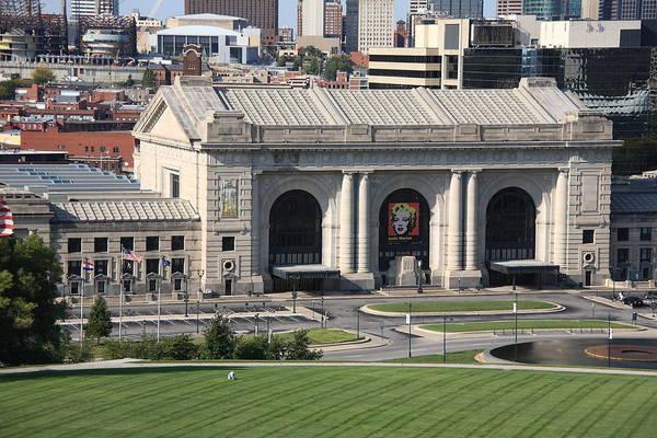 Photograph - Kansas City - Union Station by Frank Romeo