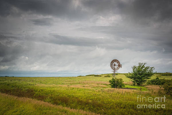 Photograph - Kansas Prairie by Michael Ver Sprill