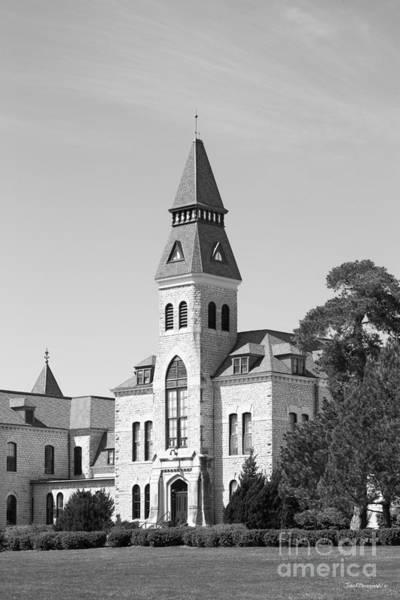 Kansas State University Photograph - Kansas State University Anderson Hall Side View by University Icons