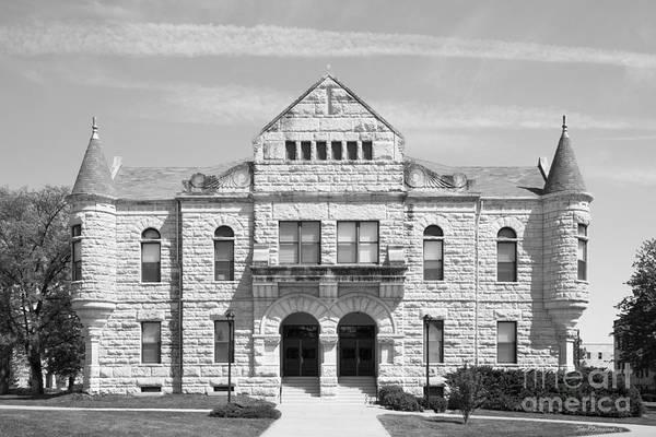 Kansas State University Photograph - Kansas State University Holton Hall  by University Icons