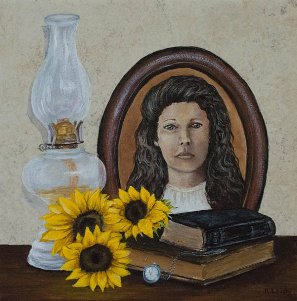 Painting - Kansas Times Past by Nancy Lauby