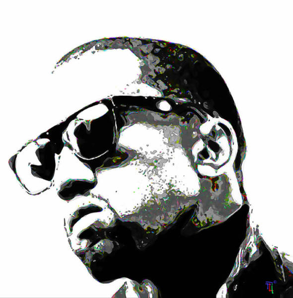 Entertainer Painting - Kanye West by Fli Art
