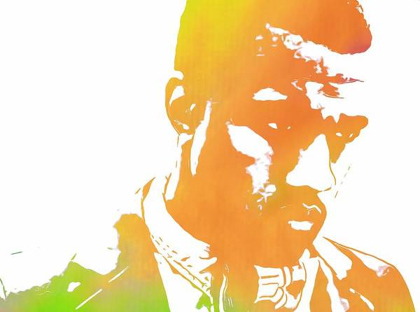 Rap Mixed Media - Kanye West Pop Art by Dan Sproul