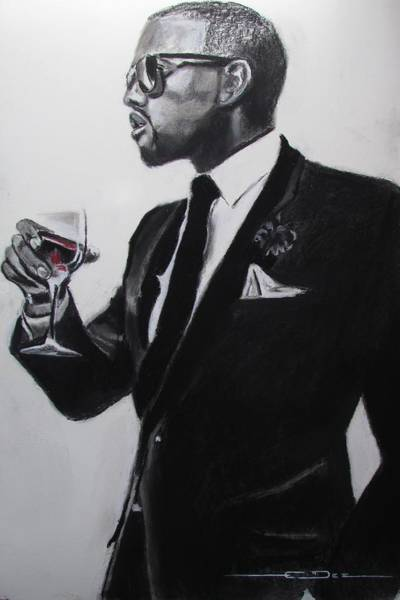 Kanye West - Maga Hat Art Print