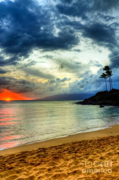 Kapalua Photograph - Kapalua Hawaii Sunset by Kelly Wade