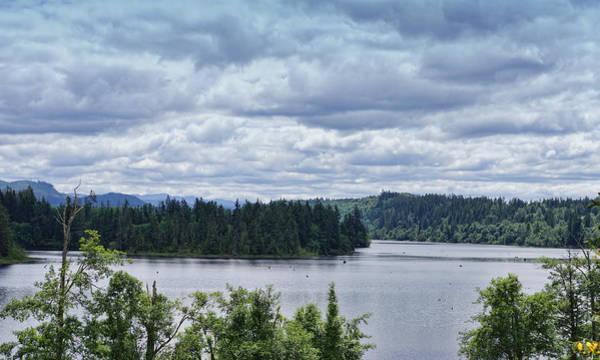 Photograph - Kapowsin Lake by Ron Roberts