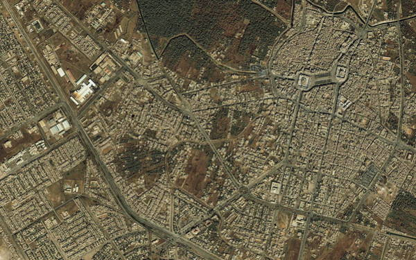 Holy City Photograph - Karbala by Geoeye/science Photo Library