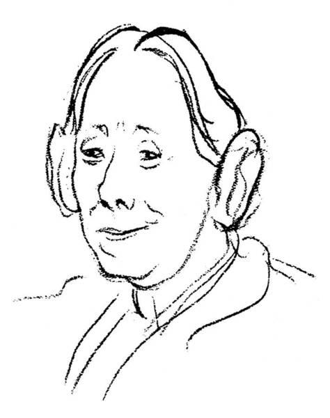 1924 Drawing - Karen Horney (1885-1952) by Granger