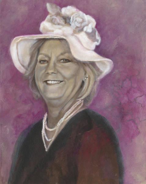 Painting - Karen  by Stephanie Broker