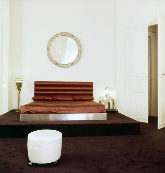Wall Art - Photograph - Karl Lagerfeld's Bedroom by Horst P. Horst
