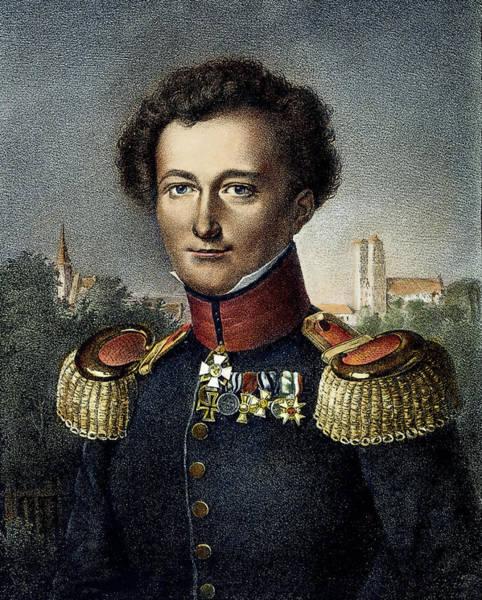 Wall Art - Painting - Karl Von Clausewitz (1780-1831) by Granger