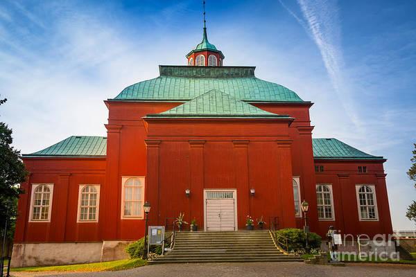 Sverige Photograph - Karlskrona Wooden Church by Inge Johnsson
