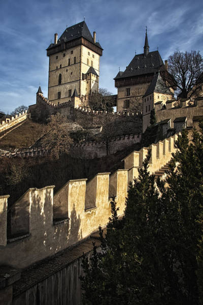 Photograph - Karlstejn Castle Color by Joan Carroll