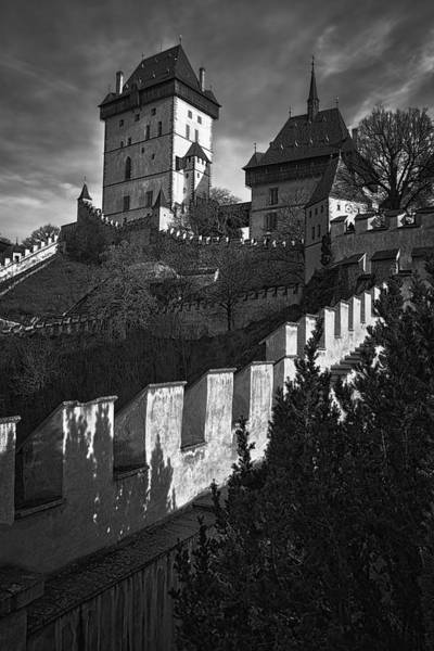 Photograph - Karlstejn Castle by Joan Carroll