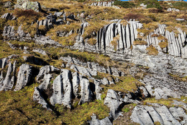 Erode Photograph - Karst Rock Formation by Michael Szoenyi/science Photo Library