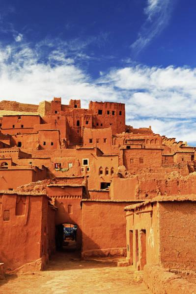Casbah Photograph - Kasbah Of Ait-benhaddou, Unesco World by Jochen Schlenker / Robertharding