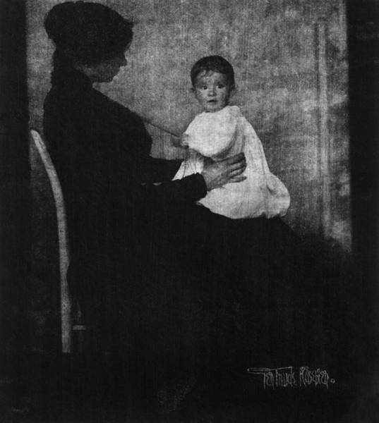 Wall Art - Photograph - Kasebier Mother And Child by Granger