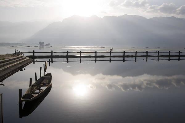Dal Lake Photograph - Kashmir #1 by Benoit Marquet