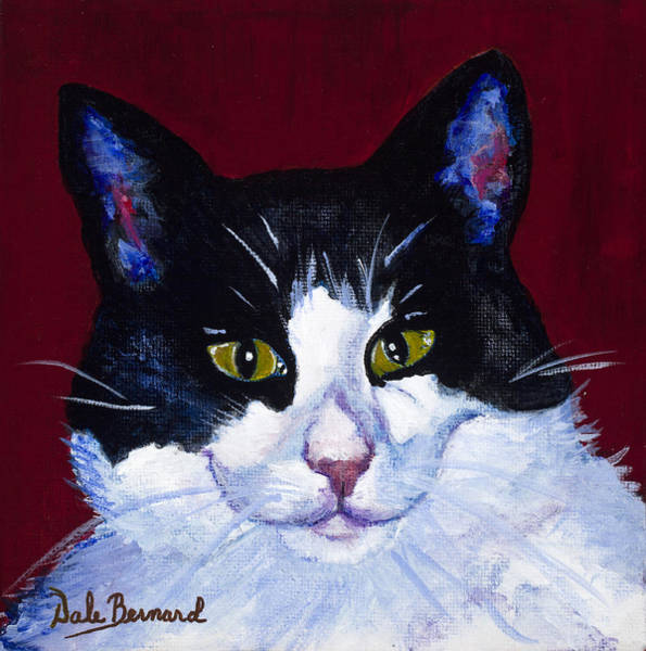Painting - Kat by Dale Bernard