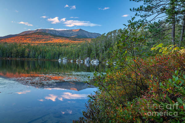 Photograph - Katahdin At Round Pond by Susan Cole Kelly
