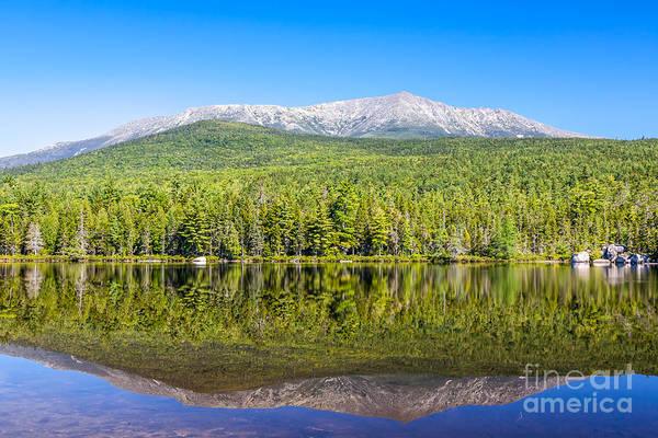 Photograph - Katahdin Summer Reflection by Susan Cole Kelly