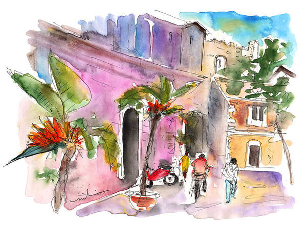 Painting - Catania 01 by Miki De Goodaboom