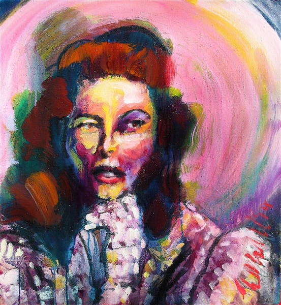 Painting - Kate by Les Leffingwell