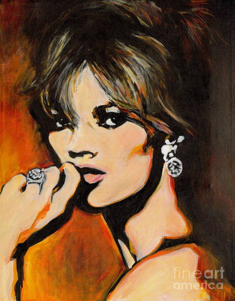 Painting - Kate - Rockin Style Icon by Tanya Filichkin