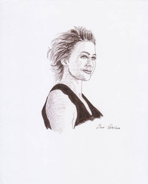 Drawing - Kate Winslet by M Valeriano
