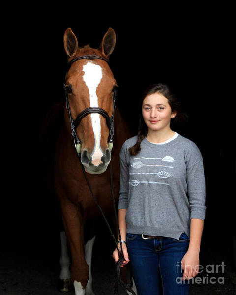 Photograph - Katherine Pal 1 by Life With Horses