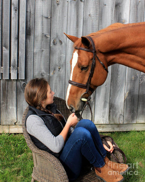 Photograph - Katherine Pal 10 by Life With Horses