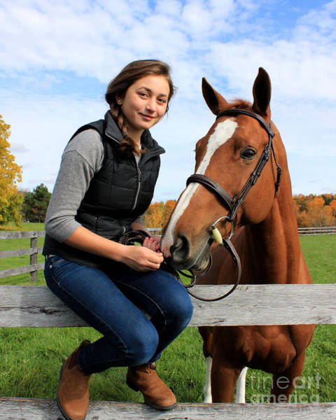 Photograph - Katherine Pal 15 by Life With Horses