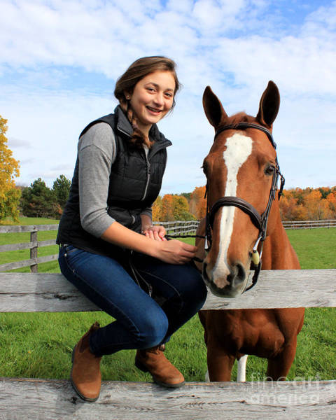 Photograph - Katherine Pal 16 by Life With Horses