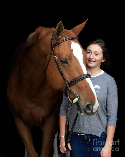 Photograph - Katherine Pal 3 by Life With Horses