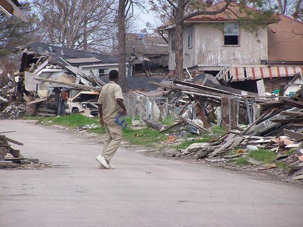 Lower Ninth Ward Photograph - Katrina Legacy by William Tegtmeyer