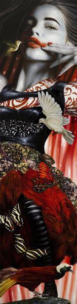 Wall Art - Mixed Media - Katrina The Unforseen by Vic Lee