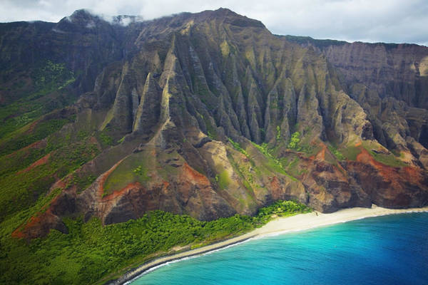 Wall Art - Photograph - Kauai Aerial by Kicka Witte