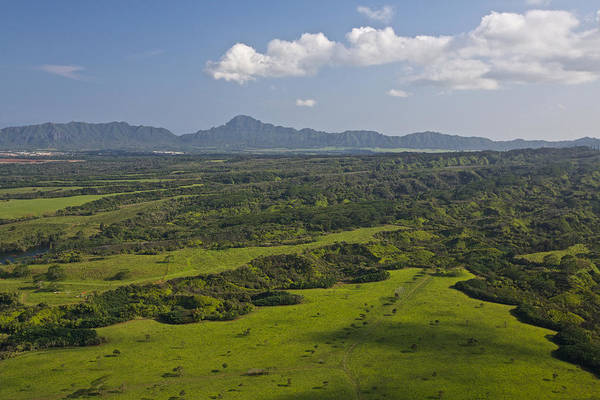 Photograph - Kauai Central Plains by Steven Lapkin