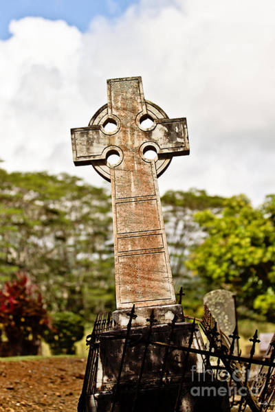 Gaelic Photograph - Kauai Cross by Scott Pellegrin