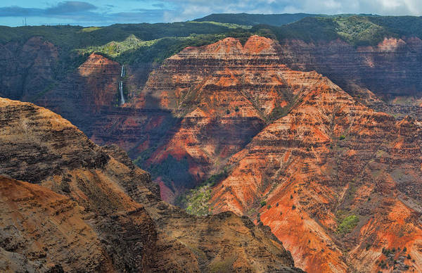 Waimea Canyon Photograph - Kauai, Hawaii Scenic Waimea Canyon by Bill Bachmann