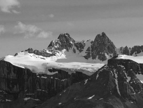 Photograph - 1m3658-bw-e-kaufman Peak  by Ed  Cooper Photography